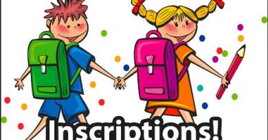 Inscription rentrée scolaire 2018/2019 des enfants nés en 2016