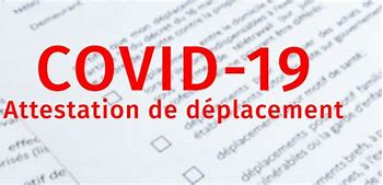ATTESTATIONS DE DEPLACEMENT